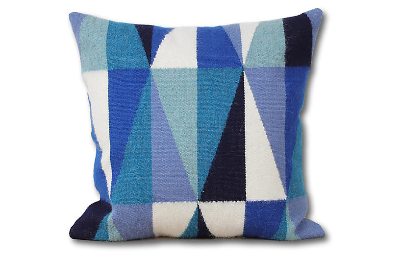 Harmoni 18x18 Pillow, Navy
