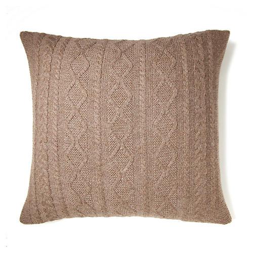 Howard 20x20 Pillow, Fawn
