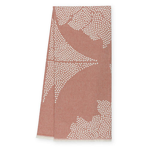 Atlas Reversible Cotton Throw, Spice