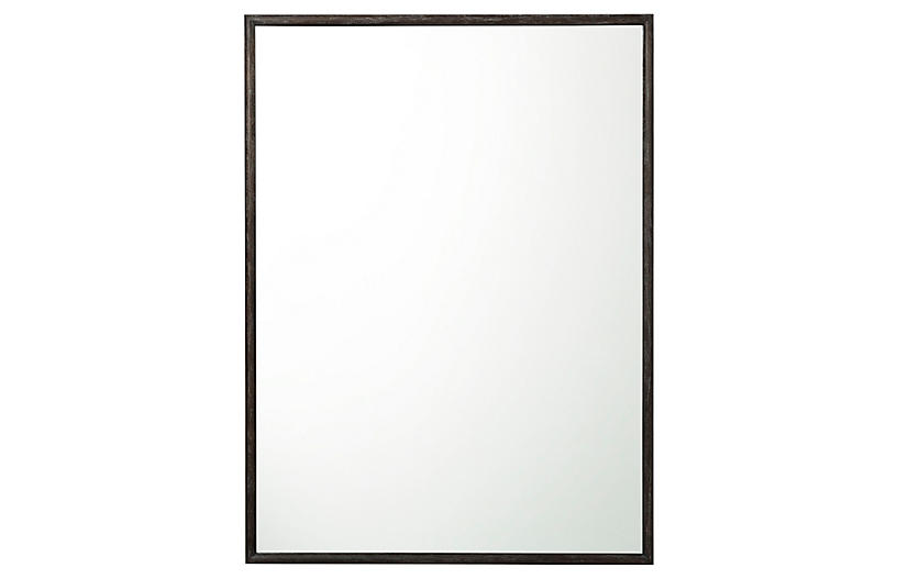 Bardot Wall Mirror, Black