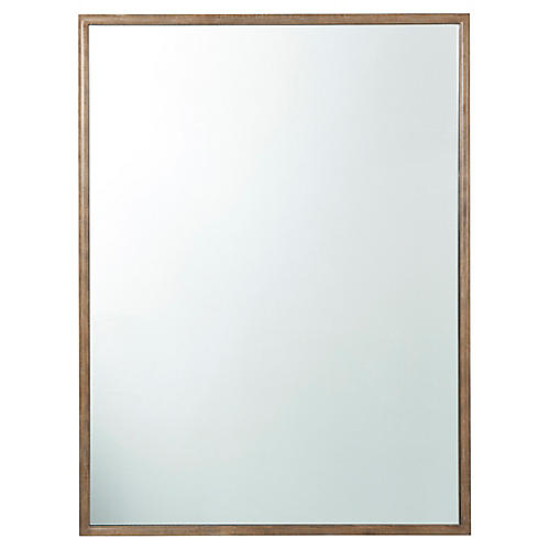 Bardot Wall Mirror, Brown