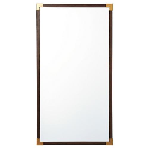 Bellelax Floor Mirror, Brown/Gold