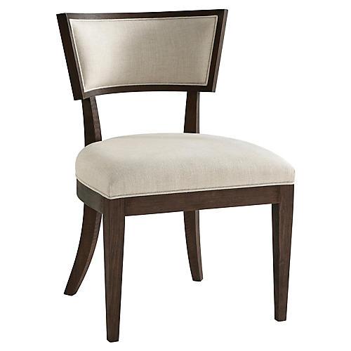 S/2 Bristow Side Chairs, Cream