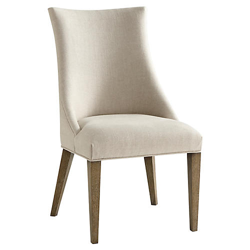 Adele Side Chair, Cream