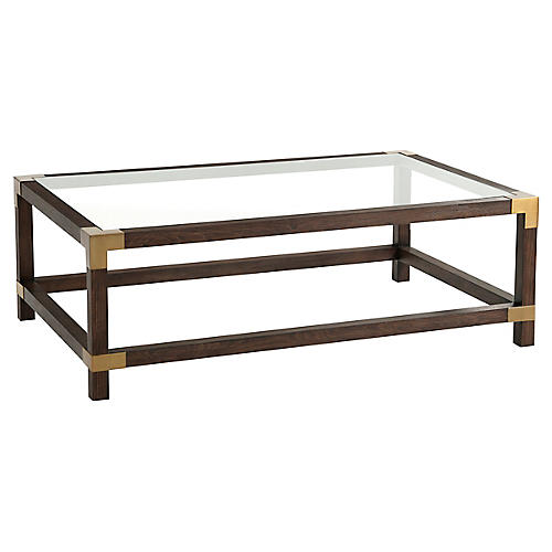 Boulevard Coffee Table, Cardamon