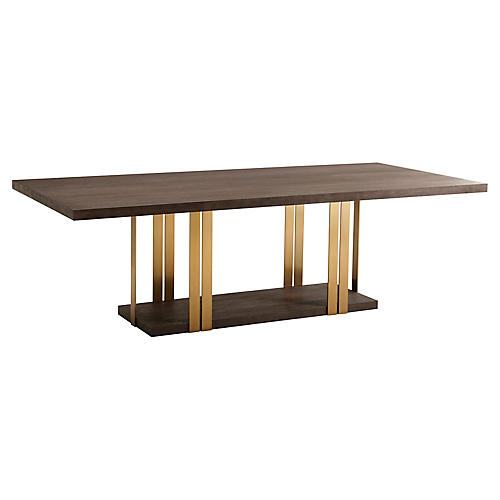 Tamar Dining Table, Cardamon