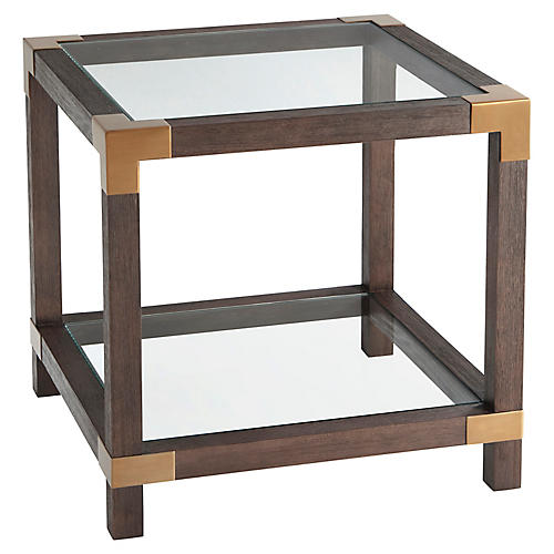 Rayan Side Table, Cardamon