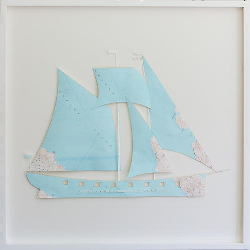Dawn Wolfe, Martha's Vineyard Map Ship