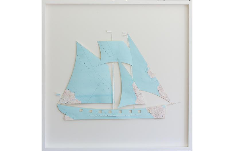 Dawn Wolfe, Martha's Vineyard Map Ship