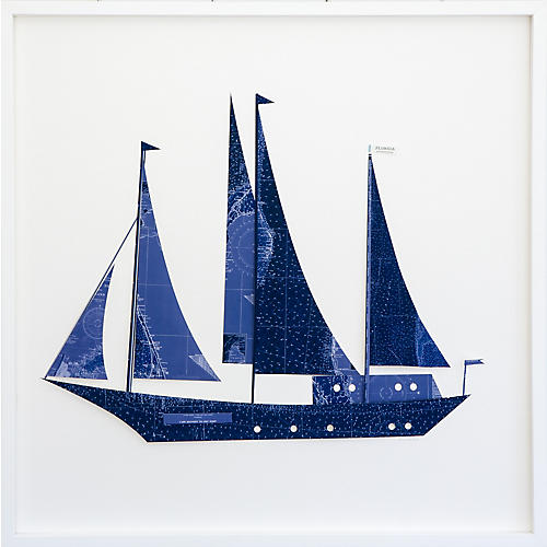 Dawn Wolfe, Florida Indigo Sailboat