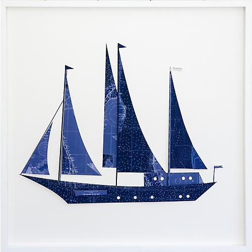 Dawn Wolfe, Florida Indigo Sailboat