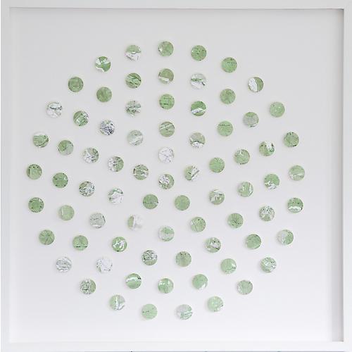 Dawn Wolfe, Aspen Map Dot Collage