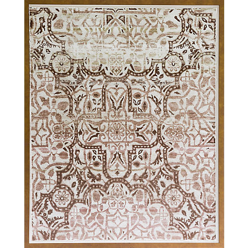 Dawn Wolfe, Bronze Silk Rug
