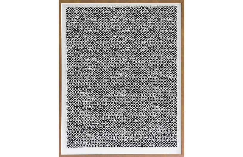 Dawn Wolfe, White Circle Pattern