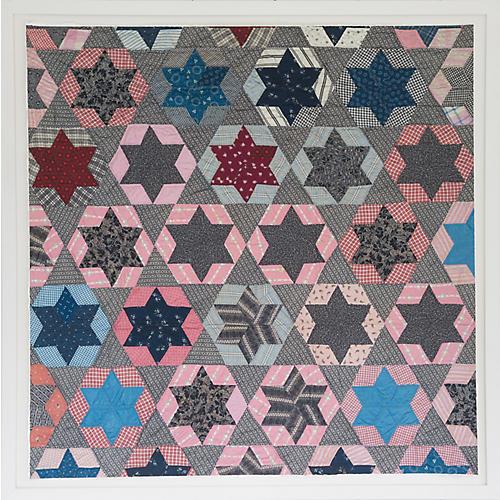Dawn Wolfe, Star Quilt Print