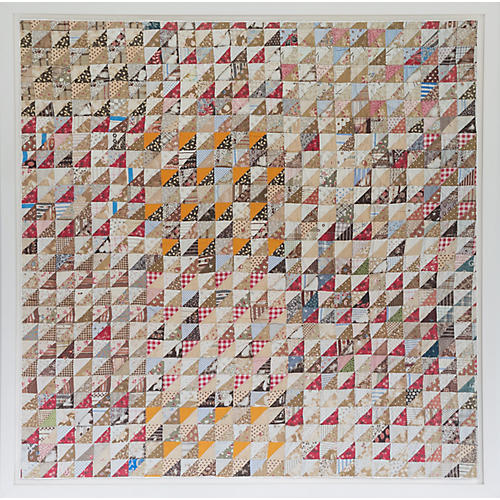 Dawn Wolfe, Tiny Triangle Quilt Print