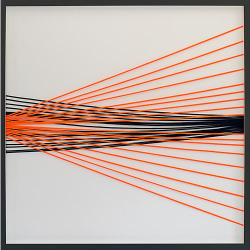 Dawn Wolfe, Wrapped Cord Abstract: Nautical
