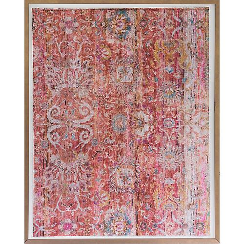 Dawn Wolfe, Pink Silk Rug
