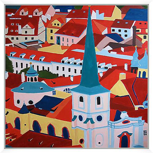 Toni Silber-Delerive, St. Nicolas Church, Prague