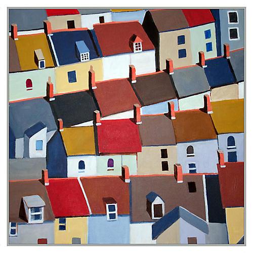 Toni Silber-Delerive, London Terraced Buildings