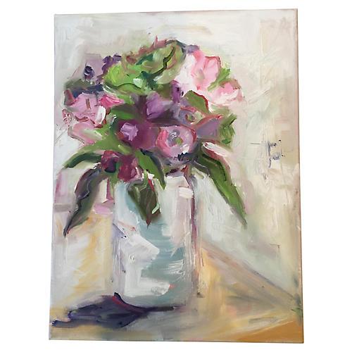 Susie Elder, Birthday Flowers