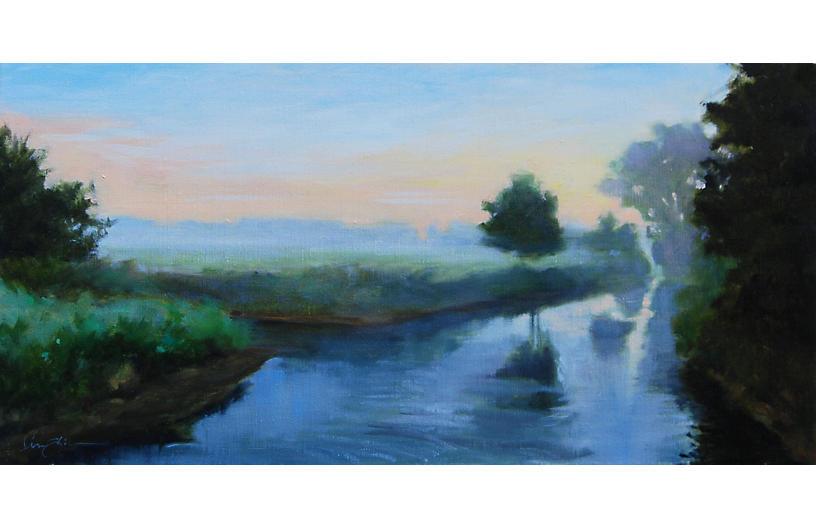 Lisa Gleim, Morning Fog