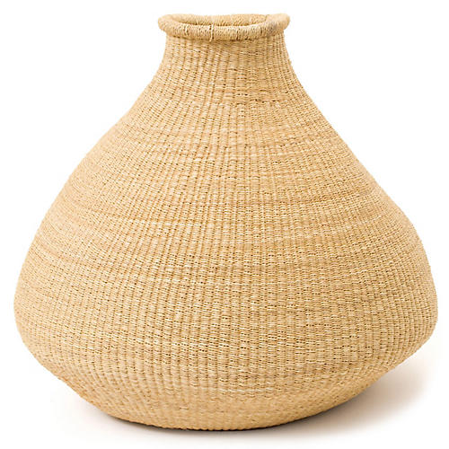 Tumba Floor Basket, Natural