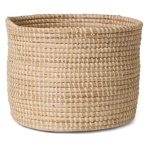 "10"" Sahili Storage Basket, Natural"
