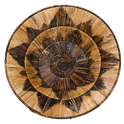 "31"" Tatu Jumbo Decorative Bowl, Natural"