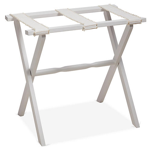 Rowan Luggage Rack, White