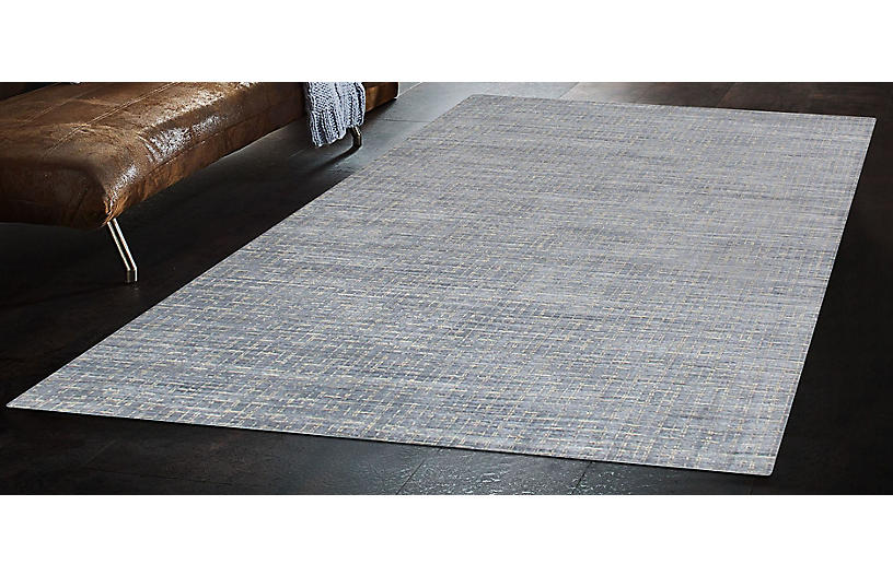Slater Rug Blue Contemporary Rugs By Style Rugs