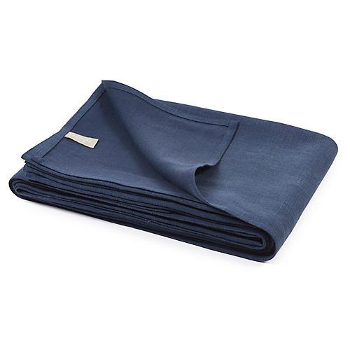 Napoli Vintage Blanket, Navy
