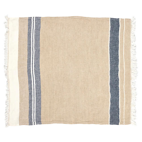 The Belgian Guest Towel, Bastion Stripe