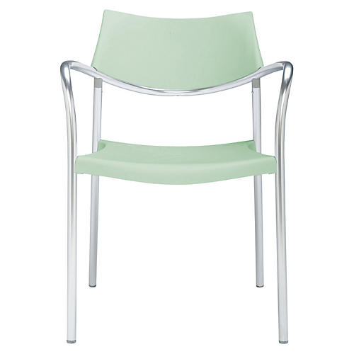 Splash Armchair, Mint