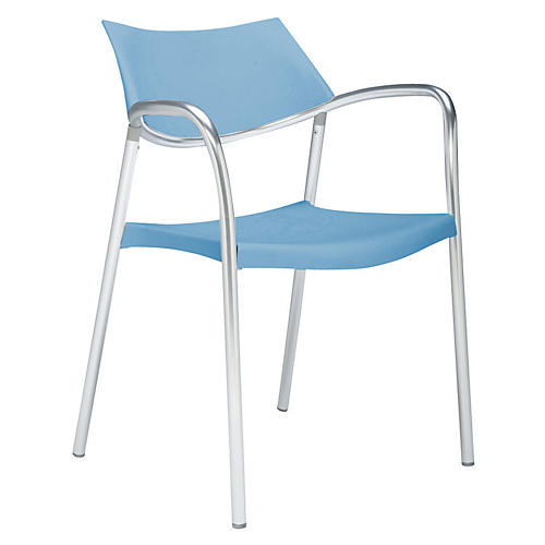 Splash Armchair, Light Blue