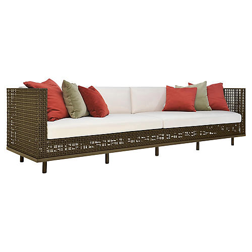 Boxwood Sofa, Mystic