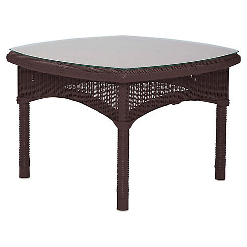 Deauville Side Table, Wenge