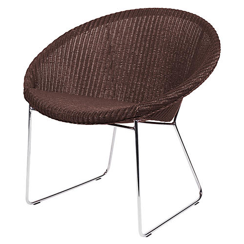 Lazy Gigi Lounge Chair, Bronze