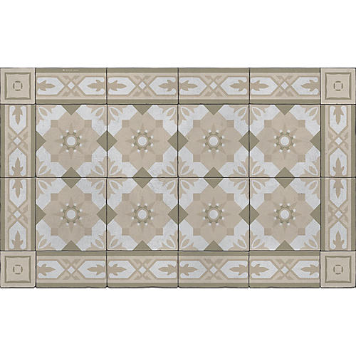 Cecile Floor Mat, Sand