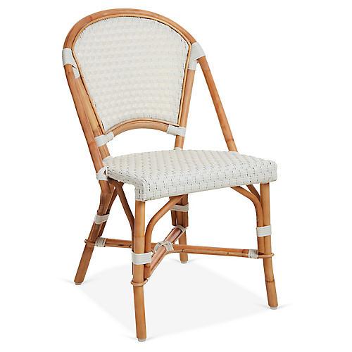 Chloe Bistro Chair, Ivory