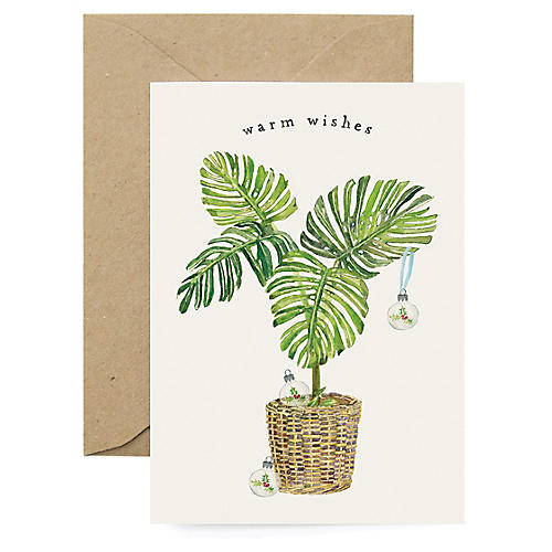 S/8 Holiday Fern Boxed Cards
