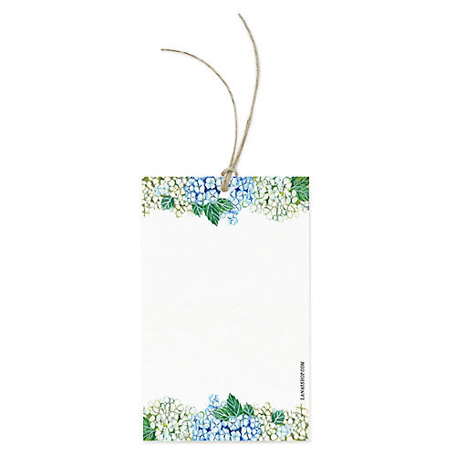 S/12 Hydrangea Gift Tags
