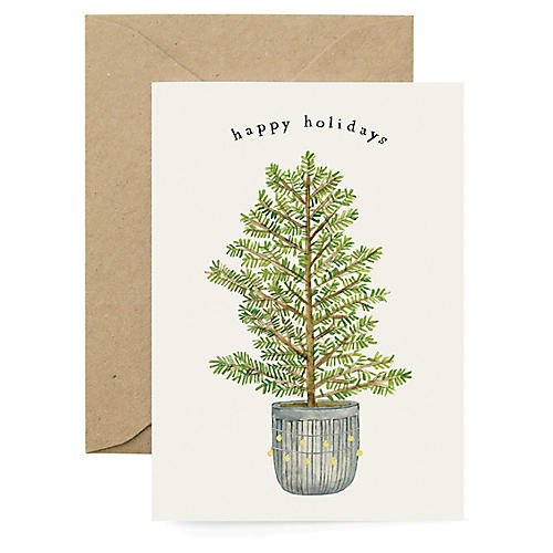 S/8 Holiday Fir Boxed Cards
