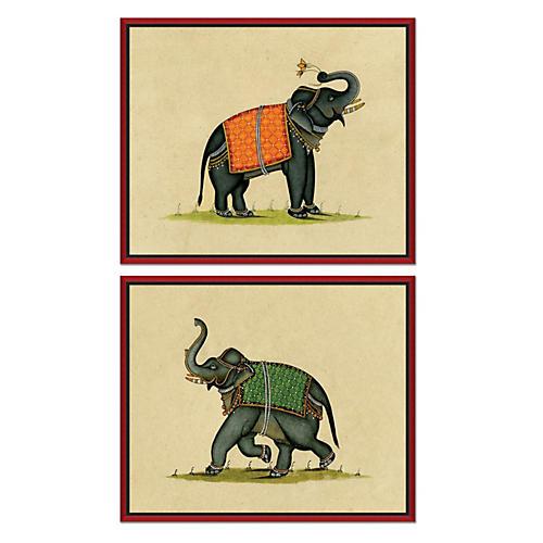S/2 Elephant Illustrations