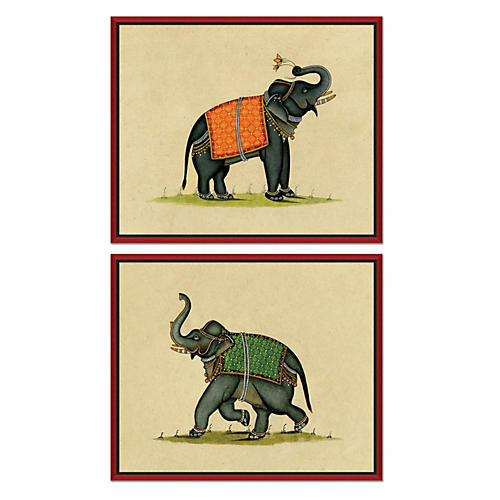 S/2 Elephant Illustrations