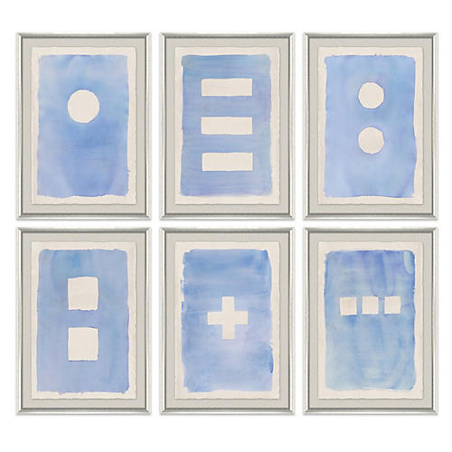 Tobi Fairley, Blue Wash Set