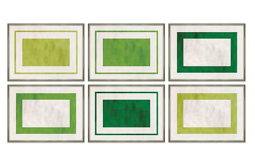 S/6 Tobi Fairley, Moments In Green Set
