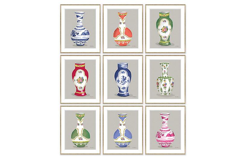 Dana Gibson, Vase Series