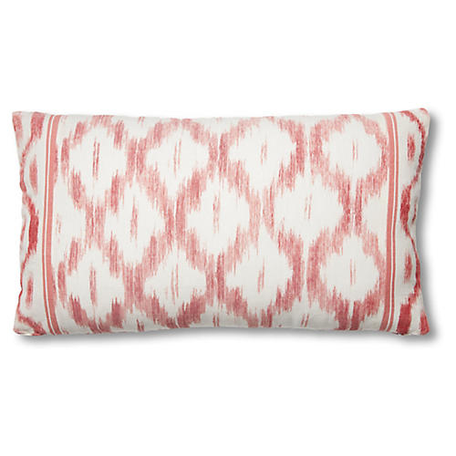 Monica 15x26 Lumbar Pillow, Faded Red