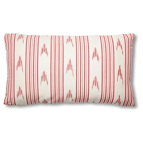 Santa Barbara 15x26 Lumbar Pillow, Pink
